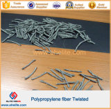 Придавая огнестойкость Durability PP Twisted Fiber для Concrete Reinforcement