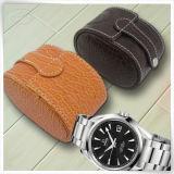 Caixas de jóia de couro Handmade do relógio de Mens do plutônio para o homem