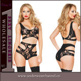 Vente en gros Femmes Seamless Fantasy Lace Baby Doll Sexy Lingerie (58894)