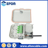 Heißes Sale FTTH 8 Fibers Distribution Box mit PLC Splitter, Adaptor/Caja Terminales