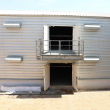 Chambre de poulet préfabriquée de tôle d'acier avec les matériels contrôlés environnementaux de volaille