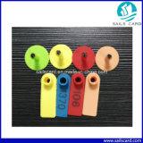 Farbenreiche Plastikziege-Schaf-Ohr-Marke für Tierkennzeichen
