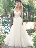 Vestido de boda del cordón de la alta calidad con de las mangas del hombro
