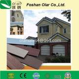 Voie de garage Batten de la colle de fibre--Matériau de construction pour le mur extérieur