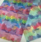 의복과 직물을%s 새로운 인쇄된 다채로운 Organza 직물