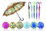 まっすぐなカートンの印刷の子供の傘