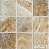 陶磁器の床の無作法な石造りのデジタル床タイル(300X300mm)
