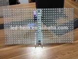 Da janela de vidro de /Shop das exposições de diodo emissor de luz do brilho P10/P15.625 elevado de diodo emissor de luz de vidro elevado das exposições/parede do vidro da transparência exposição