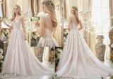 Dame-reizvolles Braut-Hochzeits-Kleid, angepasst