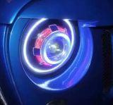 7 '' بوصة [لد/هيد] مصباح أماميّ لأنّ عربة جيب مخاصم [تج] [جك] [هومّر]