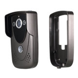Беспроволочная обеспеченность монитора внутренной связи дверного звонока телефона двери видеокамеры WiFi дистанционная (серебр)