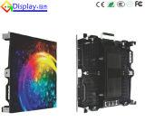 Pared a todo color de alquiler al aire libre de alta resolución del vídeo de P3.91 LED