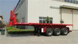 3개의 차축 각자 내버리거나 유압 드는 쓰레기꾼 트럭 반 트레일러