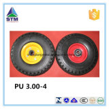 "4.10/3.50-4 "" Free piano Tire su Wheel, 4 "" Centered Hub, 5/8 "" di Bearings"