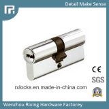cilindro de cobre amarillo de la cerradura de la alta calidad de 70m m de la cerradura de puerta Rxc15