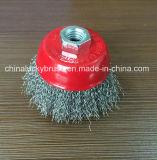 escova do copo do aço 3inch inoxidável (YY-584)