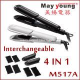 Ferro liso do cabelo mutável universal quente da placa da tensão das vendas