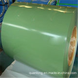 Il colore ha ricoperto la bobina d'acciaio preverniciata galvanizzata