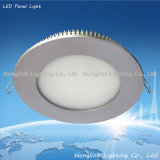 diodo emissor de luz Panel Light de 3With6With9With12With15W Ultra-Thin Aluminum Recessed Ceiling