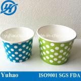 6oz Ice Cream Cup con Plastic Lid (YHC-064)