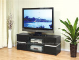 Cabina de la melamina TV/soporte negros /Table para los muebles caseros (DMBQ045)