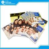 Дешевое печатание брошюры буклета рогульки листовки памфлета цвета