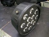 プラスチック12X8w LED平らな同価ライトディスコライト