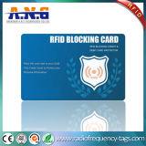 Die Mappe der Sicherheits-RFID, die Karte blockt, schützen Ihre persönliche Information