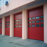Раздвижная дверь двери Industril вертикальная поднимаясь секционная (HF-1075)