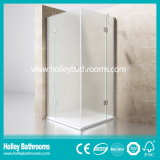 Двойные двери притертого стекла двери Hinger продавая просто алюминий Shower-Se710m оборудования нержавеющей стали