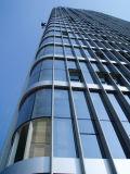 Parete divisoria di verniciatura di alluminio (parete divisoria di vetro messa)