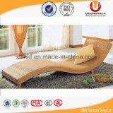 Кровать нового ротанга PE мебели конструкции напольного напольная (UL-T33)