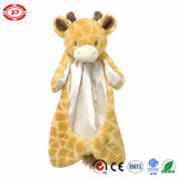 Cobertor macio do luxuoso encantador do cuidado do bebê da fantasia do brinquedo do jardim zoológico do Giraffe