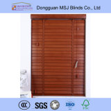 High Profile Metal Head Rail Basswood Blinds