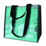 Recicl o saco de compra não tecido reusável da promoção (LJ-163)