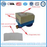 Projeto novo medidor de água doméstico pagado antecipadamente do cartão do RF