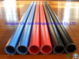 Aislante de tubo resistente a la corrosión e impermeable de la fibra de vidrio