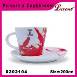 Jogo de chá relativo à promoção de China de osso Vireous do hotel da cerâmica