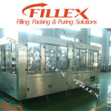 Soft gassoso Drink Rinsing Filling Capping 3in1 Beverage Filling Machine