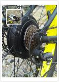 "26 "" lcdのスノーモービルの安い電気山の脂肪質のバイク500W 48V"