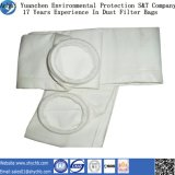 Sacchetto filtro non tessuto del poliestere del filtrante della polvere di vendita calda per l'accumulazione di polvere