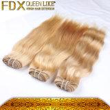 Inslag van het Menselijke Haar van het Haar van de blonde de Europese