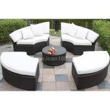 Il sofà di alluminio esterno del rattan ha impostato (WS-06036)
