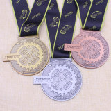 Kundenspezifisches Gifts Running Medal Marathon Metal Sport Medal mit Ribbon