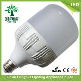 bulbo de lâmpada do diodo emissor de luz da tampa de 10W 15W 20W 30W 40W Aluminum+PC