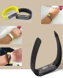 Pulsera elegante, venda elegante con ritmo cardíaco y pulsera de Bluetooth del perseguidor de la salud del oxígeno de la sangre para el teléfono elegante del IOS Andriod