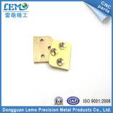 真鍮薄板CNCの機械化の部品