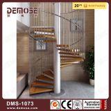 Escadaria antiga interna da espiral da madeira de metal (DMS-1073)