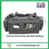 Bolso dianteiro externo com Webbing de Molle, pacote