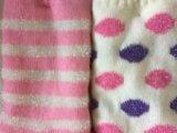 Due calzini delle donne di seta intelligenti di colore